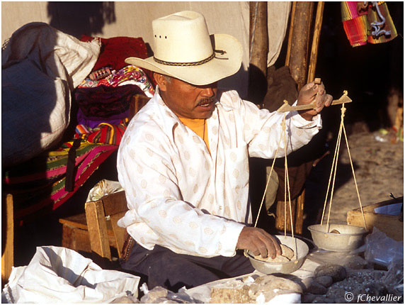 Vendeur de chaux - Guatemala