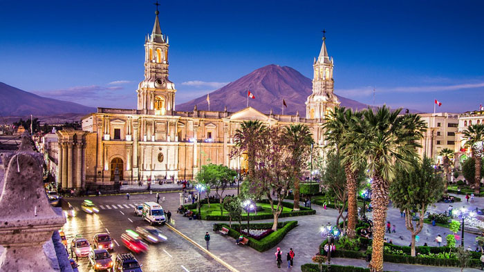VOYAGE A AREQUIPA