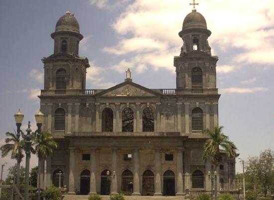 L'ancienne cathédrale devenue depuis un musée Managua - Nicaragua