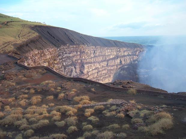 Crater de Santiago - Masaya - Nicaragua